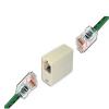 Conector Acople Rj45 Hembra