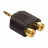 Conector Plug Stereo a RCA